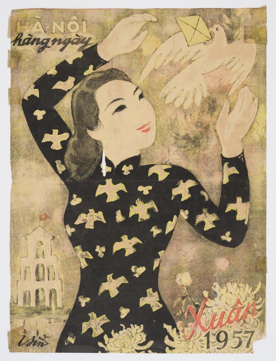 Ngắm bộ tranh áp phích nghệ thuật Việt Nam ở Thư viện New South Wales -0