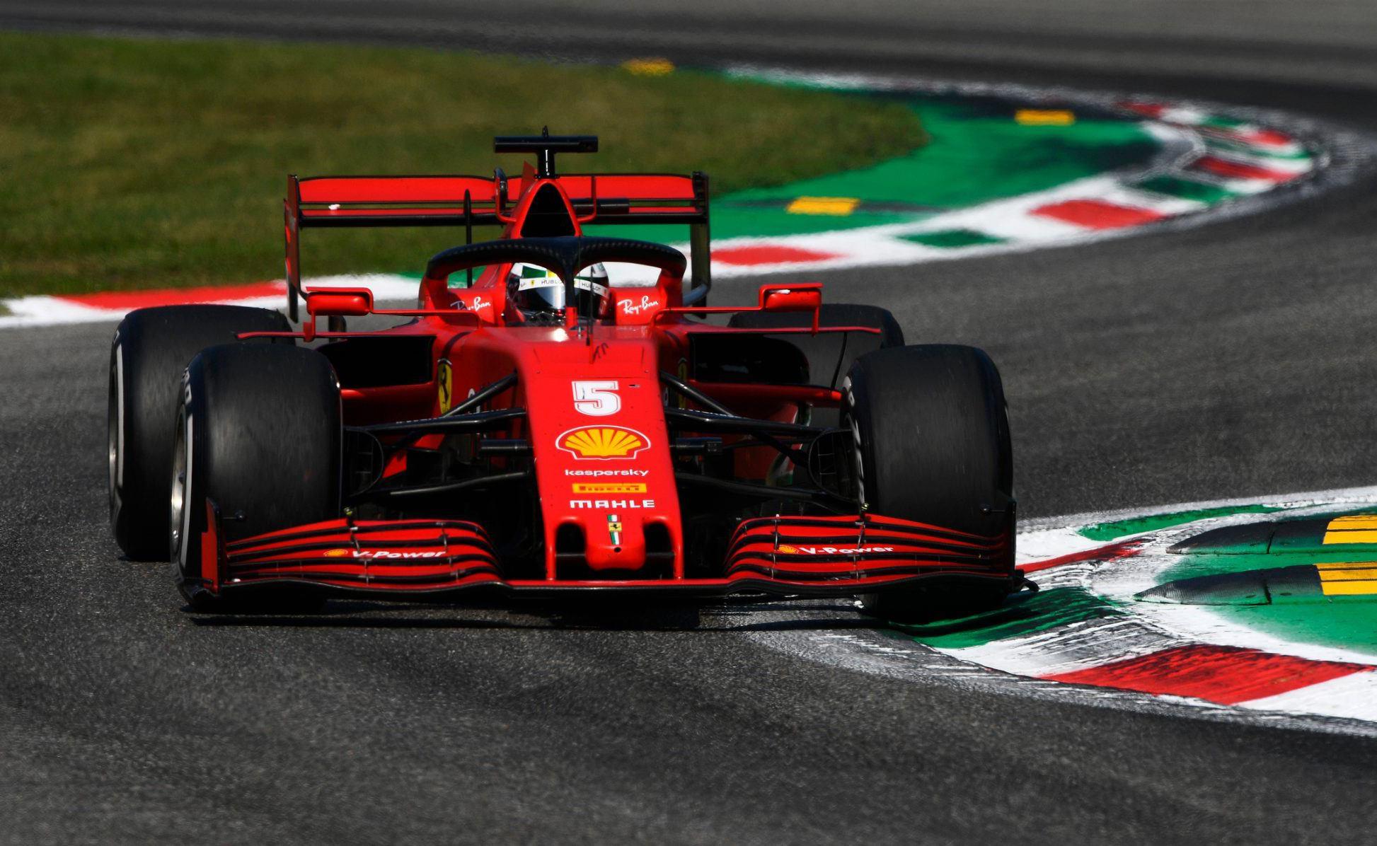 Kịch tính ở trường đua Monza -0