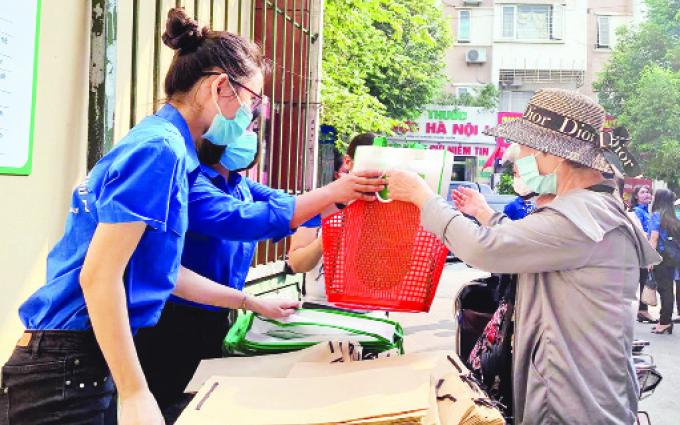 Mô hình thí điểm chợ dân sinh giảm rác thải nhựa -0