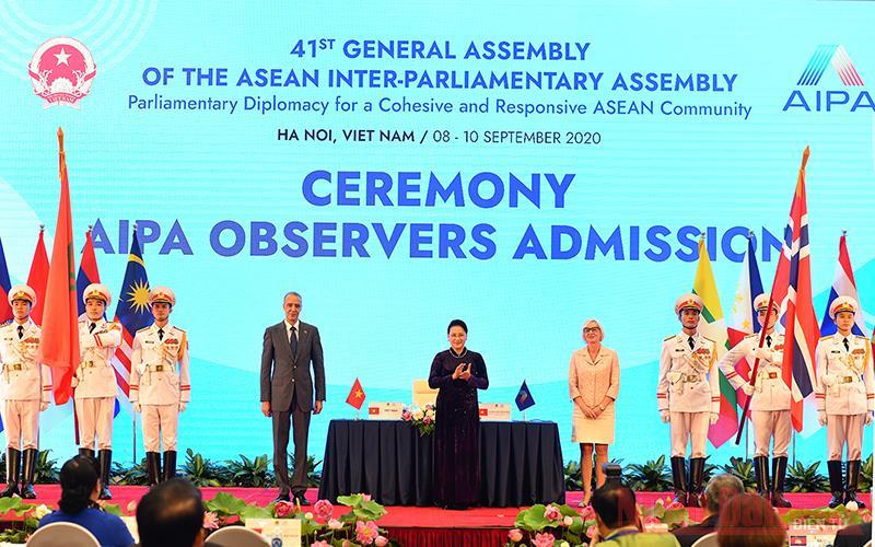 Đại hội đồng AIPA 41 thành công tốt đẹp và bế mạc -0