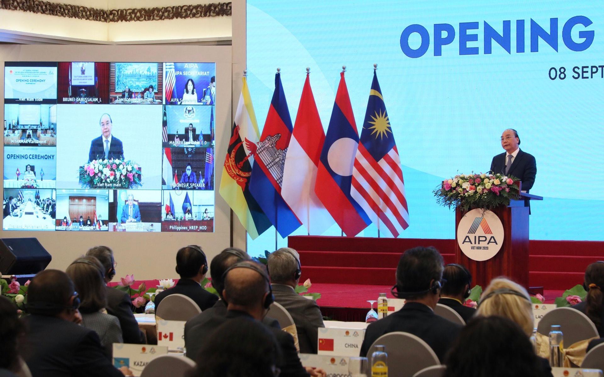 Đại hội đồng AIPA 41 và dấu ấn Quốc hội Việt Nam -0
