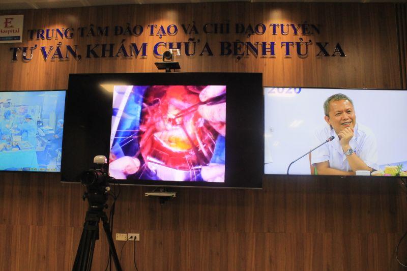 Ba ca bệnh ở tuyến dưới được hội chẩn từ xa nhờ Telehealth -0