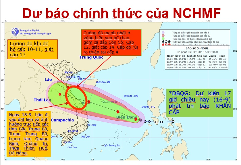 Dự kiến phải di dời khoảng 500.000 dân để tránh bão Noul -0