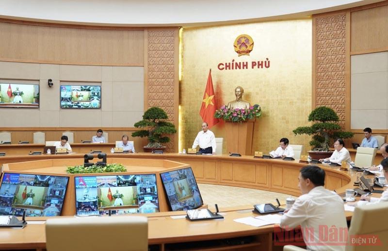 Thường trực Chính phủ họp ứng phó Covid-19 -0