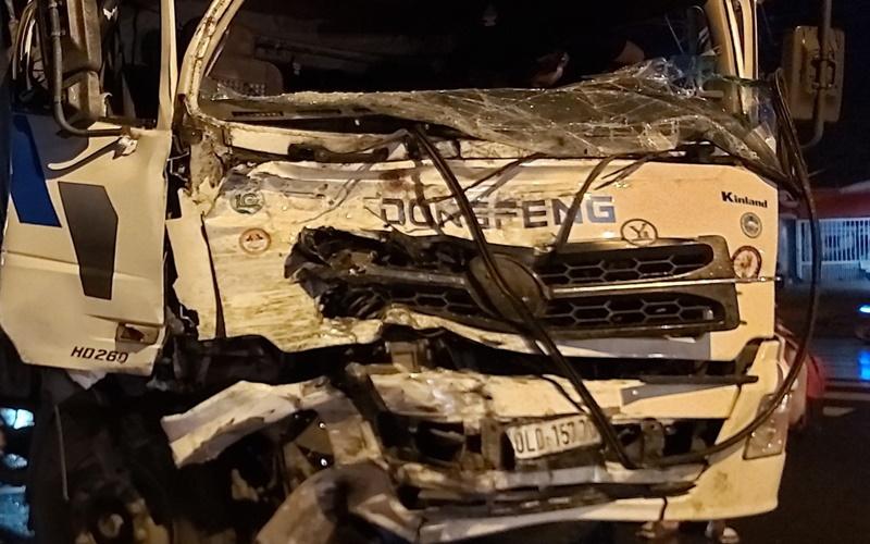 Tai nạn giao thông làm 20 người bị thương tại Long An -0
