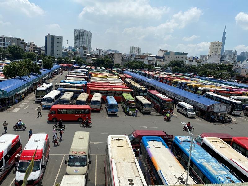Từ 10-10, 71 tuyến xe hoạt động tại Bến xe Miền Đông mới -0