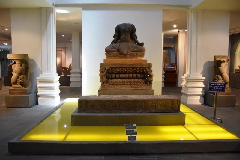 Thí điểm trải nghiệm Scan 3D tại Bảo tàng Điêu khắc Chăm Đà Nẵng -0