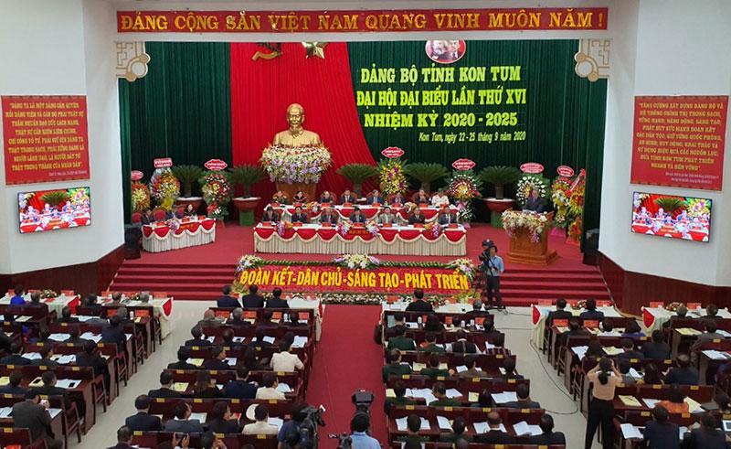 Khai mạc Đại hội Đảng bộ tỉnh Kon Tum lần thứ 16 -0