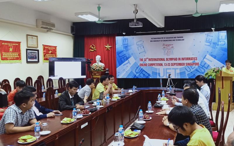 Việt Nam đoạt một Huy chương vàng Olympic Tin học quốc tế -0