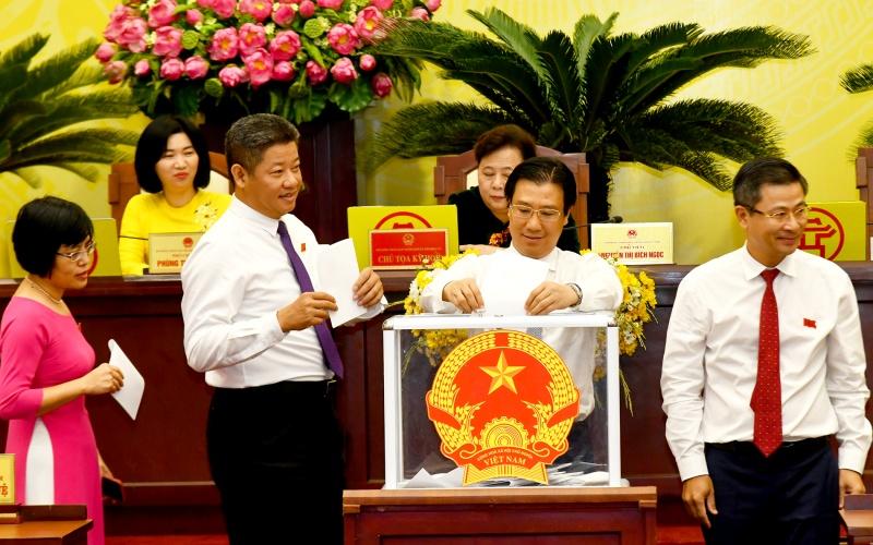 Đồng chí Chu Ngọc Anh được bầu là Chủ tịch UBND TP Hà Nội -0