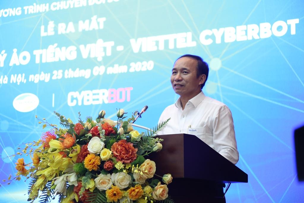 Ra mắt Nền tảng trợ lý ảo tiếng Việt - Viettel Cyberbot -0