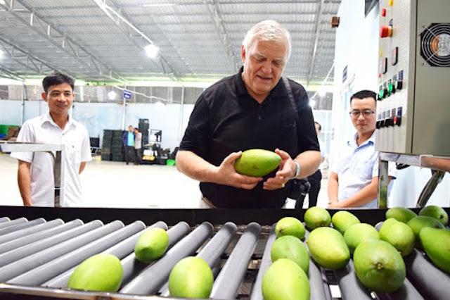 Mỹ cử chuyên gia hỗ trợ xuất khẩu trái cây Việt Nam -0