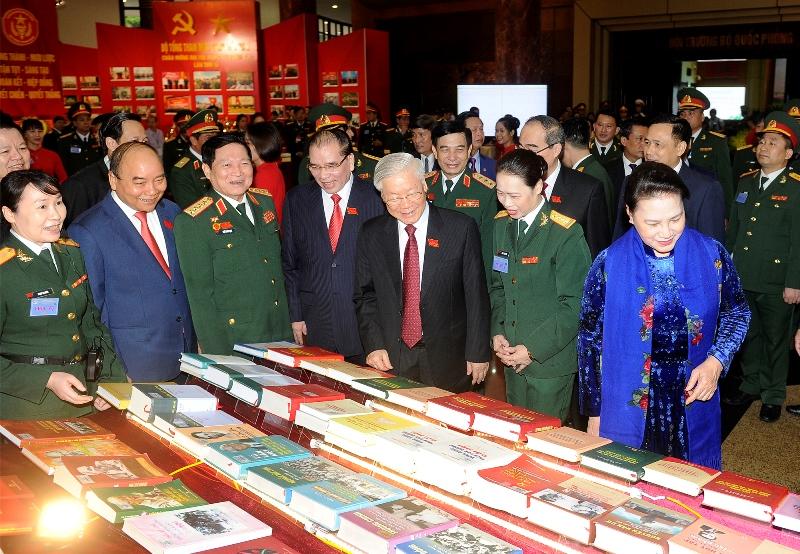 Khai mạc Đại hội đại biểu Đảng bộ Quân đội, nhiệm kỳ 2020-2025 -0