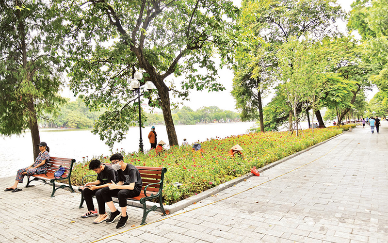 Khẩn trương hoàn thành dự án cải tạo, chỉnh trang hạ tầng hồ Hoàn Kiếm -0