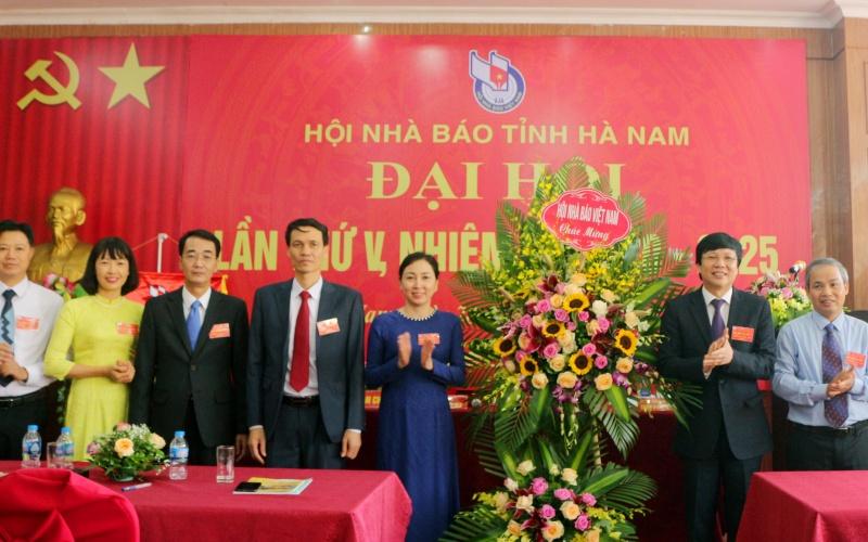 Đại hội Hội Nhà báo tỉnh Hà Nam lần thứ V -0