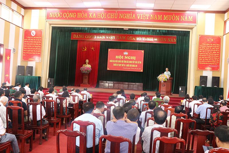 Bộ trưởng Công an Tô Lâm tiếp xúc cử tri tại thị xã Từ Sơn (Bắc Ninh) -0