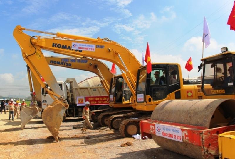 Khởi công dự án thành phần tuyến đường bộ cao tốc bắc-nam phía đông -0