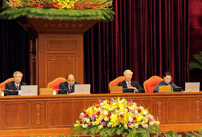 Khai mạc Hội nghị lần thứ 13 Ban Chấphành T.Ư Đảng khóa XII -0