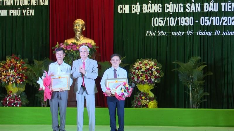 Kỷ niệm 90 năm Ngày thành lập Chi bộ Đảng đầu tiên tại Phú Yên. -0