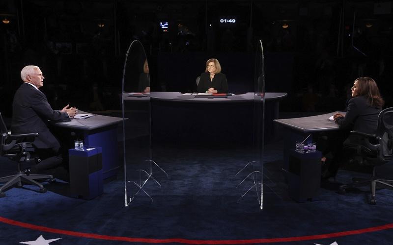 Hai ứng viên Phó Tổng thống Mỹ bước vào cuộc tranh luận trực tiếp duy nhất -0