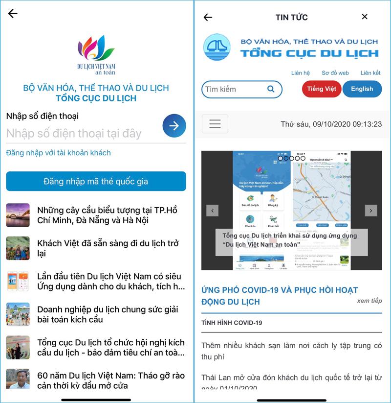 """Yên tâm trải nghiệm, đừng quên ứng dụng """"Du lịch Việt Nam an toàn"""" -0"""