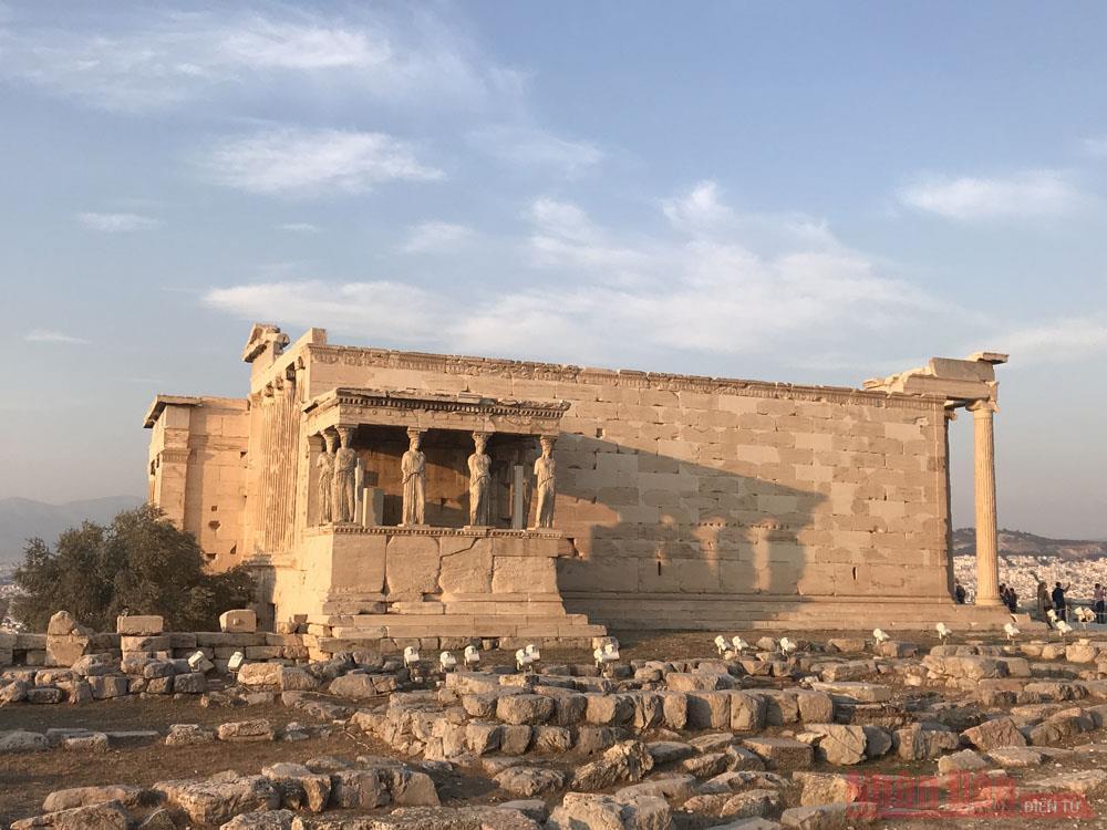 Kỳ 3: Thành cổ Acropolis – Trái tim của Hy Lạp -0