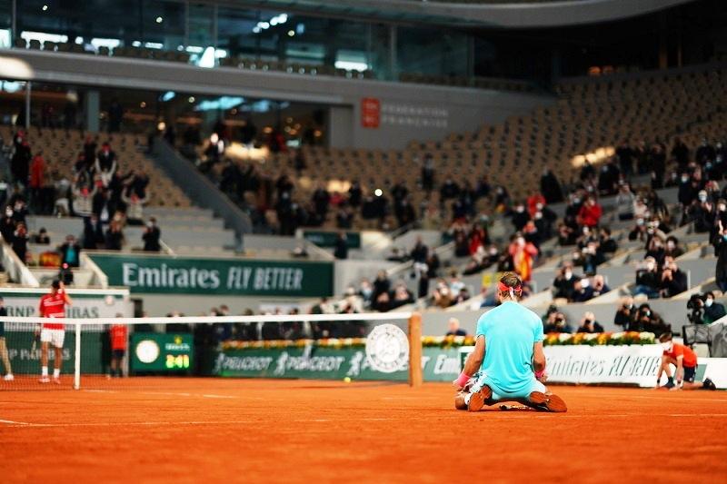 Vô địch Roland Garros, Nadal san bằng kỷ lục 20 danh hiệu Grand Slam -0