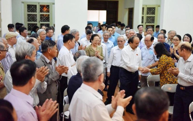 Thủ tướng Nguyễn Xuân Phúc tiếp xúc cử tri tại Hải Phòng -0