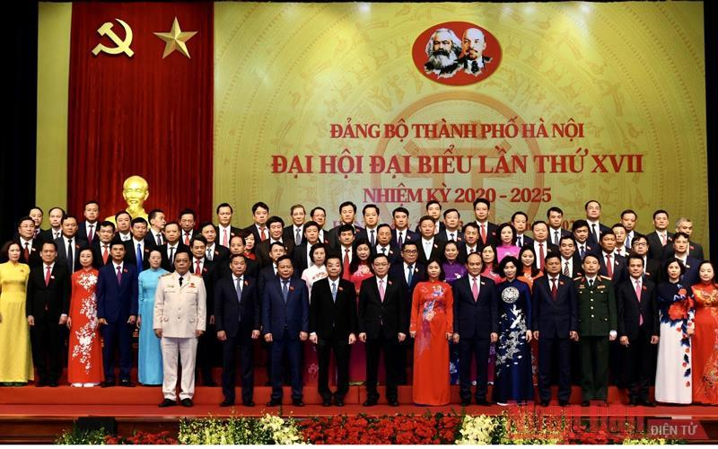 Bế mạc Đại hội Đảng bộ thành phố Hà Nội lần thứ 17 -0