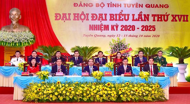Khai mạc Đại hội Đảng bộ tỉnh Tuyên Quanglần thứ 17 -0