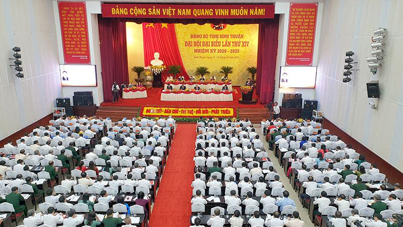 Khai mạc Đại hội Đại biểu Đảng bộ tỉnh Bình Thuận lần thứ 14 -0