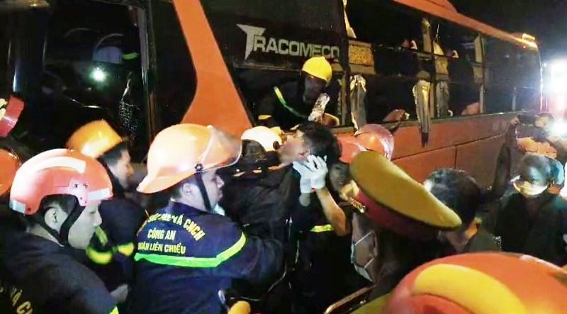 Tai nạn giao thông nghiêm trọng tại hầm Hải Vân làm hai người tử vong -0