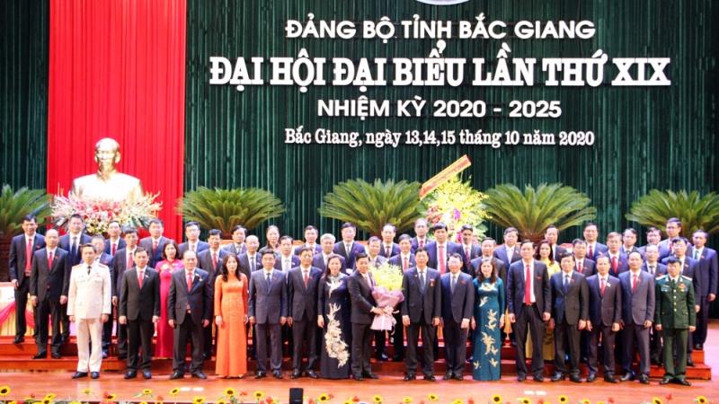 Đồng chí Dương Văn Thái được bầu giữ chức Bí thư Tỉnh ủy Bắc Giang -0