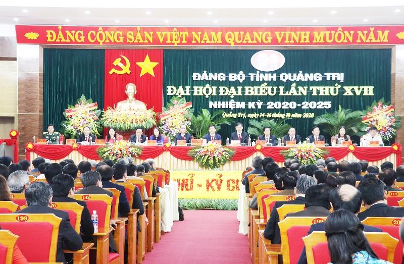 Khai mạc Đại hội Đảng bộ tỉnh Quảng Trị lần thứ 17 -0