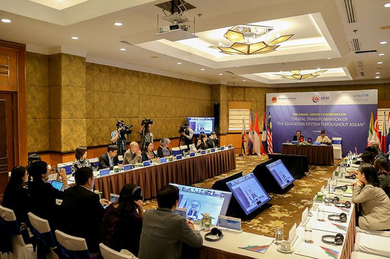Chuyển đổi kỹ thuật số hệ thống giáo dục trong khu vực ASEAN -0