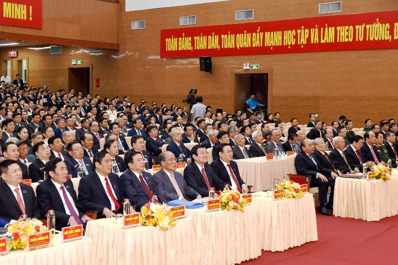 Khai mạc Đại hội đại biểu Đảng bộ tỉnh Nghệ An lần thứ 19 -0