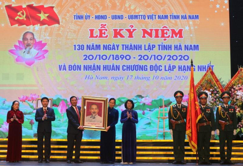 Hà Nam kỷ niệm 130 năm Ngày thành lập tỉnh và đón nhận Huân chương Độc lập hạng nhất -0