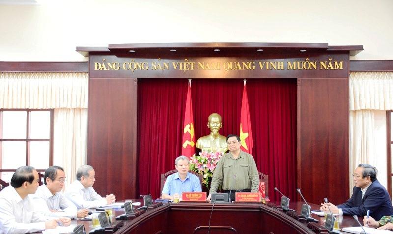 Kiểm tra công tác phòng phống, khắc phục hậu quả mưa lũ tại Quảng Trị -0