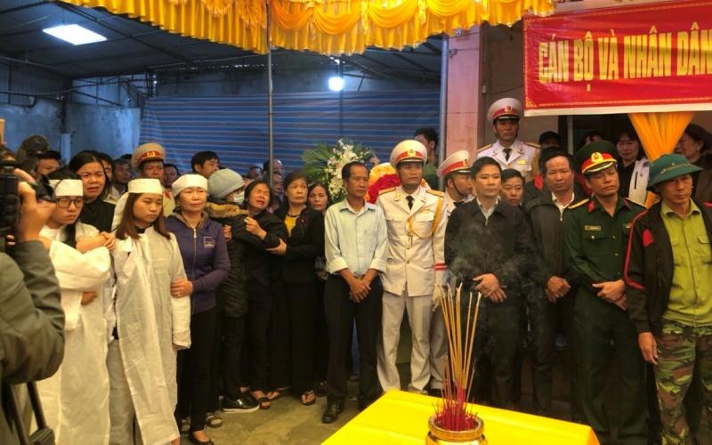 Thái Bình tổ chức Lễ truy điệu, an táng liệt sĩ hy sinh tại Thủy điện Rào Trăng 3 -0