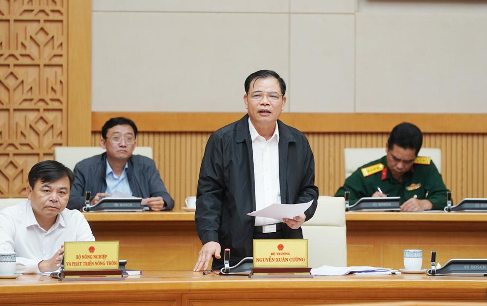 Thường trực Chính phủ họp bàn khắc phục hậu quả mưa lũ miền trung -0