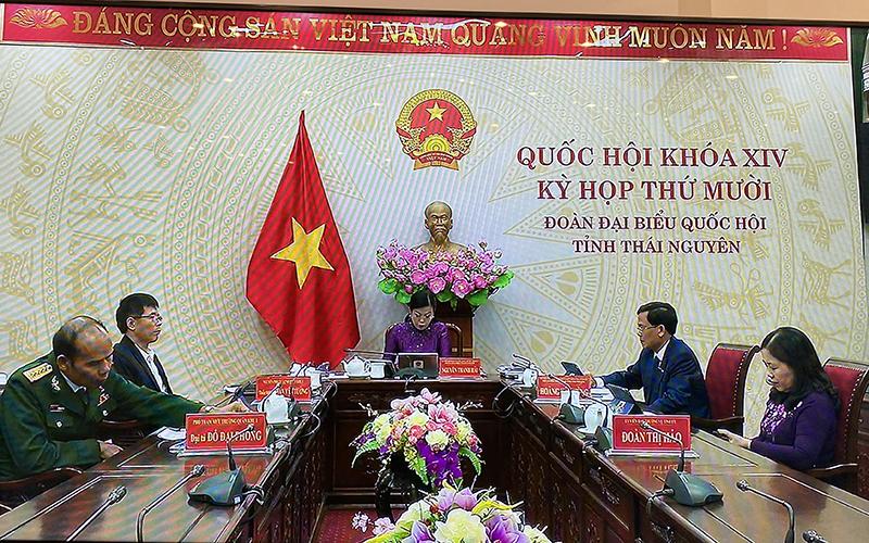 Chính thức khai mạc kỳ họp thứ 10, Quốc hội khóa XIV -0