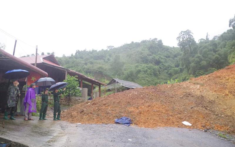 Thông tuyến tỉnh lộ 530 lên biên giới ở huyện Lang Chánh, tỉnh Thanh Hóa -0