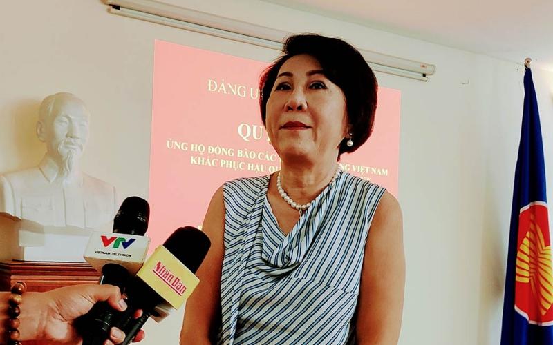 Cộng đồng người Việt tại Campuchia hướng về đồng bào miền trung -0