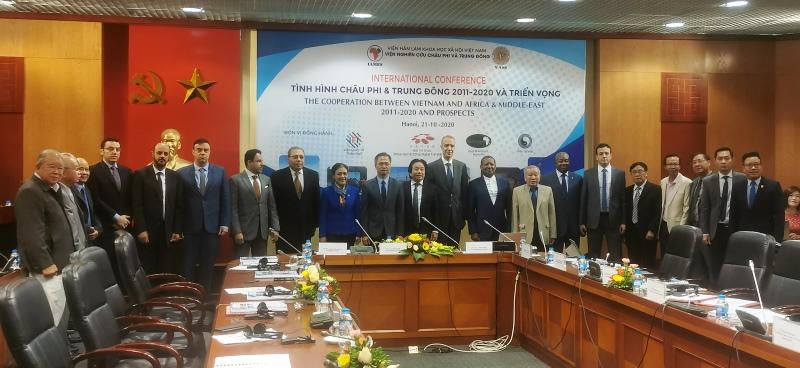 Hội thảo về triển vọng hợp tác Việt Nam - châu Phi và Trung Đông -0
