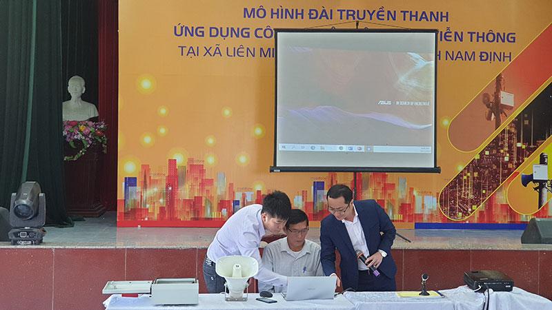 Triển khai mô hình đài truyền thanh thông minh đầu tiên ở Nam Định -0