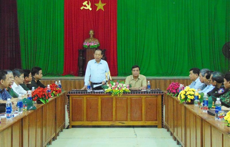 Phó Thủ tướng Trương Hòa Bình kiểm tra khắc phục mưa lũ tại miền núi Quảng Nam -0