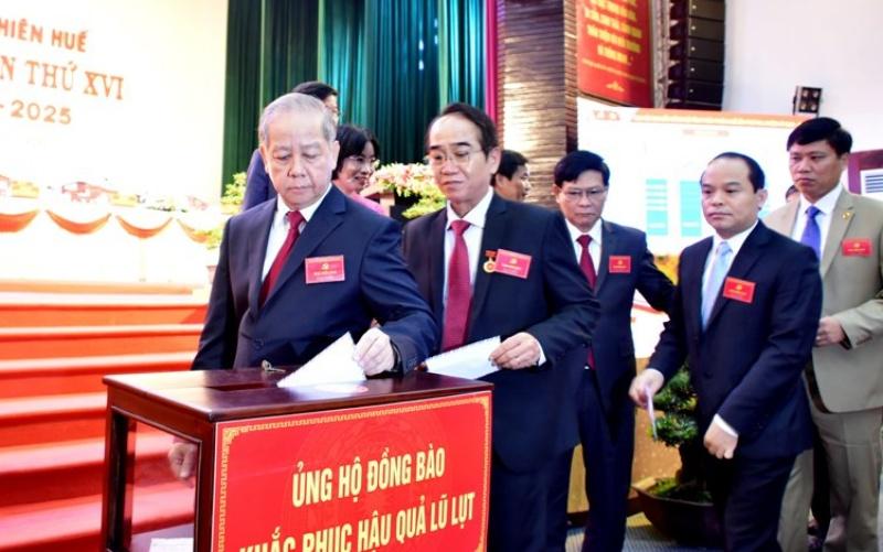 Khai mạc Đại hội đại biểu Đảng bộ tỉnh Thừa Thiên Huế lần thứ 16 -0