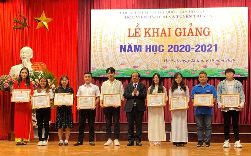 Học viện Báo chí và Tuyên truyền khai giảng năm học mới -0