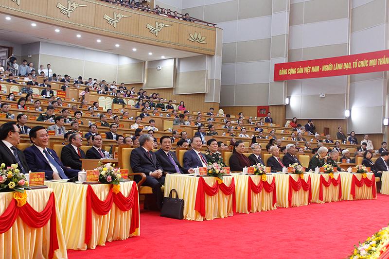 Khai mạc Đại hội Đại biểu Đảng bộ tỉnh Hưng Yên lần thứ 19, nhiệm kỳ 2020-2025 -0