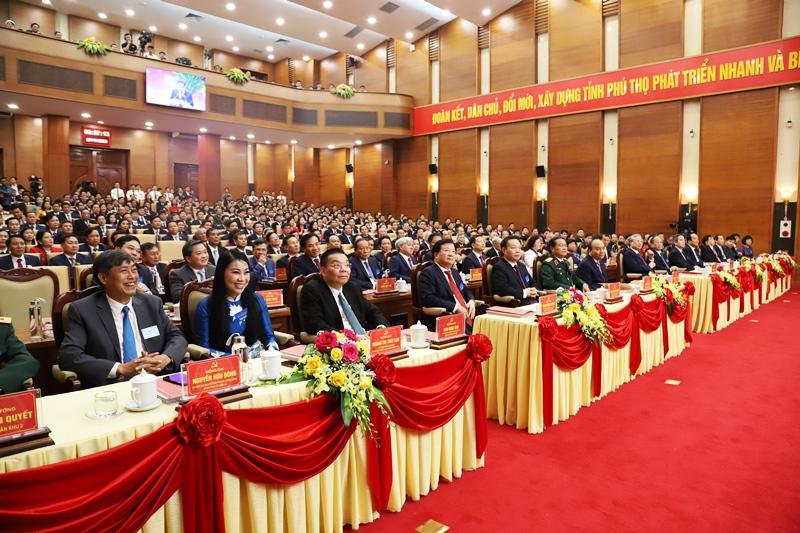 Khai mạc Đại hội Đảng bộ tỉnh Phú Thọ lần thứ 19 -0